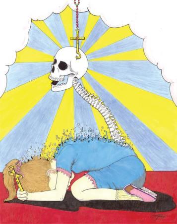 Zeusophobia, the fear of God
