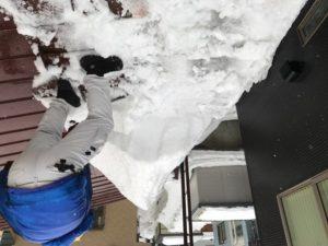 雪庇落とし 平岡2