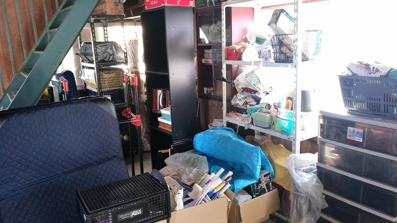 つくば市で倉庫の片付け、断捨離、粗大ごみ処分