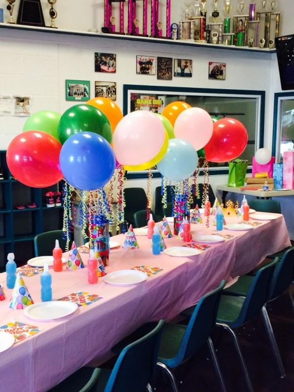 Birthday Parties | Bensalem School of Gymnastics