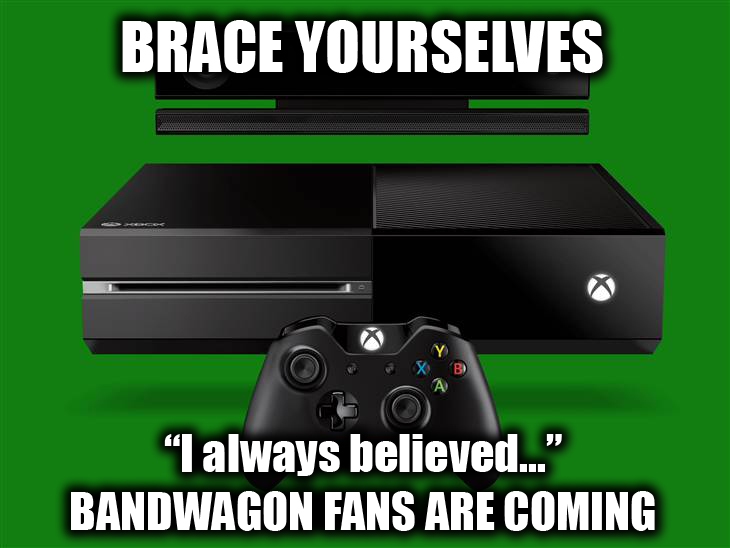 25 Reaction Memes To Microsofts DRM 180 On The Xbox One