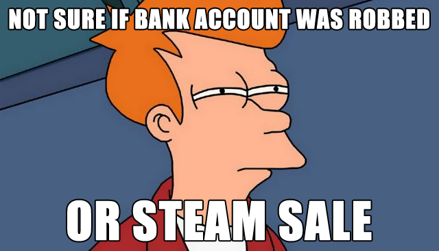 fry not sure steam sale
