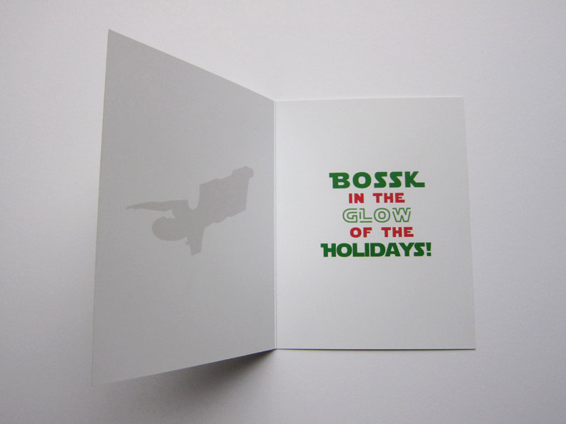 The Force Is Strong With These Star Wars Christmas Cards