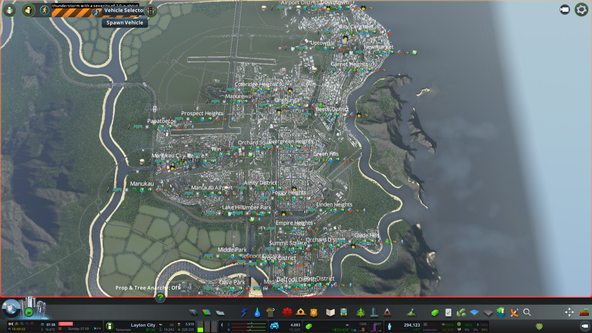 Layton City is Back #CitiesSkylines