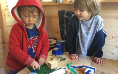 Exploring the invention shed