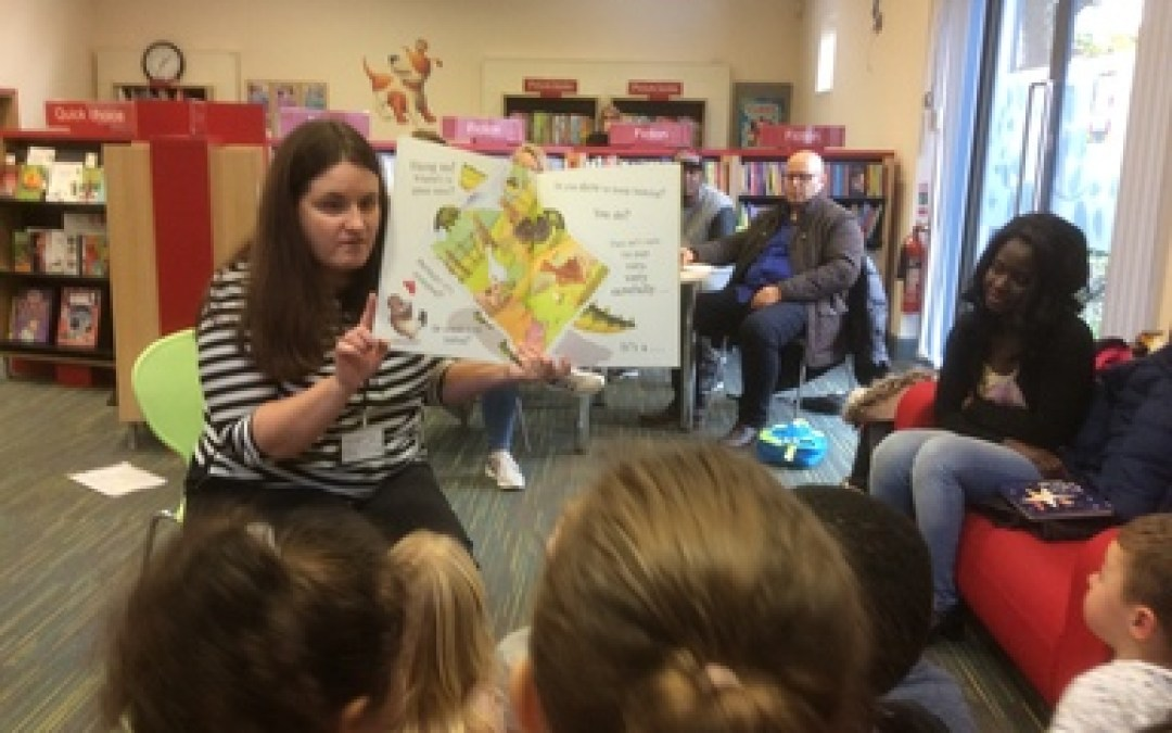 Gateshead Library Visit