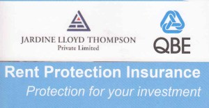 Rent Protection Insurance in Singapore by QBE and Jardine Lloyd Thompson