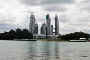 View of Reflections at Keppel Bay from Sentosa Cove