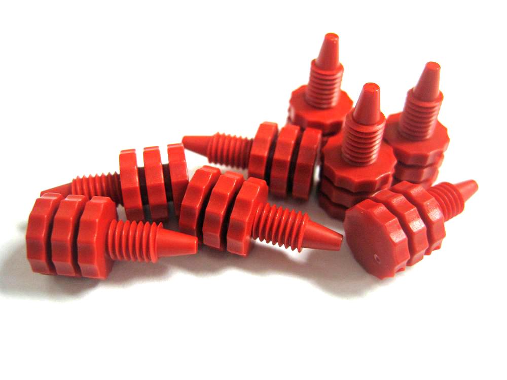 Column end plugs blue benson polymeric