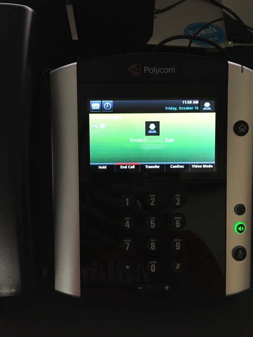 Setting up and using the Polycom VVX 600 with Office 365