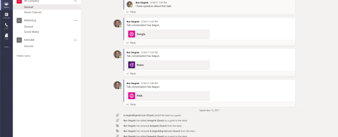 Microsoft Teams Client