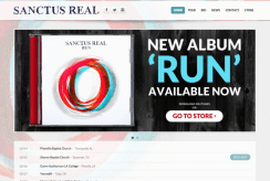 Sanctus Real Website