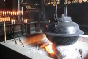 宮島霊火堂消えずの火