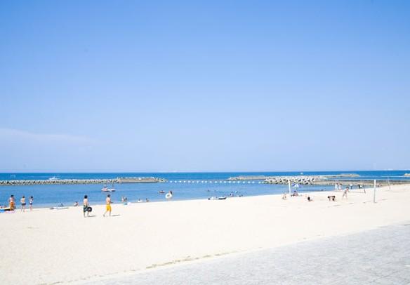 泉南郡岬町淡輪海水浴場ときめきビーチ