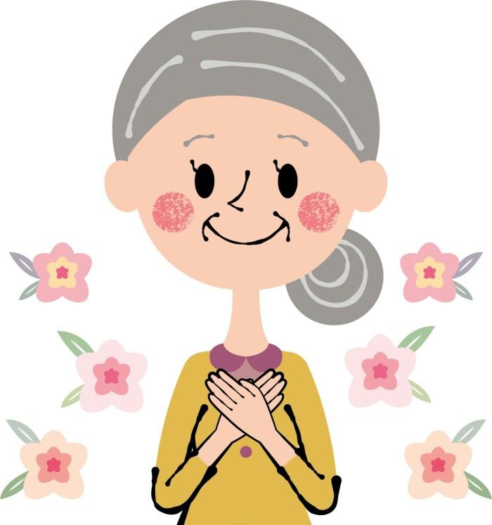 おばあちゃん,敬老の日,プレゼント,お花