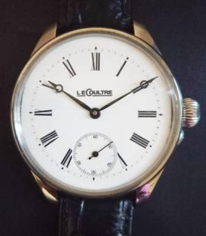 ルクルトアンティーク腕時計