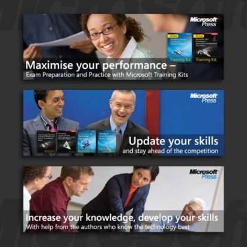 Banner-Gestaltung für Microsoft