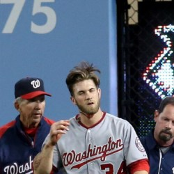 Bryce Harper will play hard even if it kills him, unless he's playing in Hagerstown
