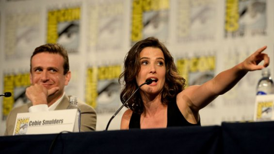 If you have a problem with 'How I Met Your Mother' being at San Diego Comic-Con, blame the IRS