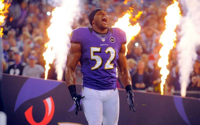 Ray Lewis: 'talent sometimes can win you games'