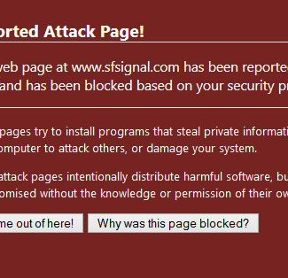 SF Signal flagged by Google as malware site [Update]