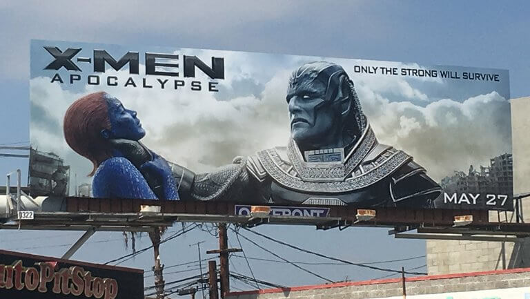 Some upset over 'X-Men: Apocalypse' ad