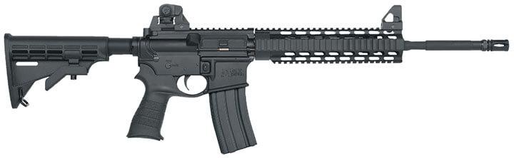 The assault rifle, the safest of all guns