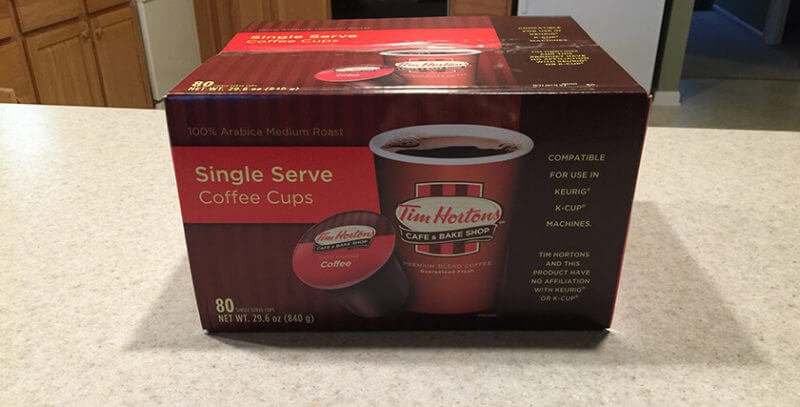 Stay away form Tim Horton's K-Cups