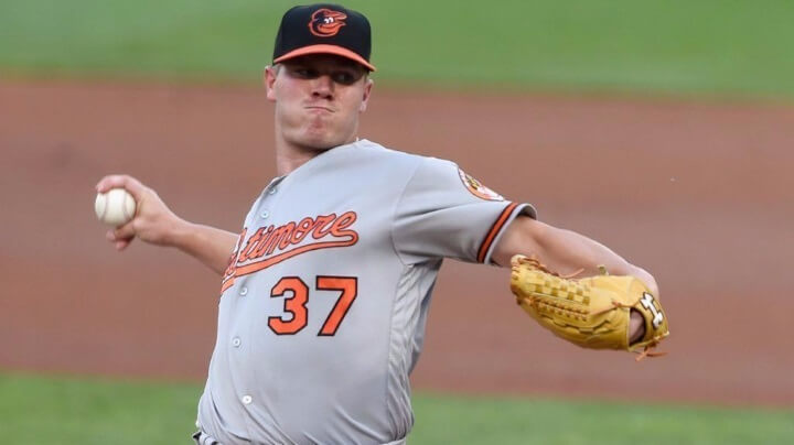 The Baltimore Orioles are now back to .500 baseball