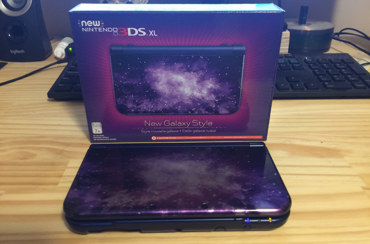 My new Nintendo 3DS XL