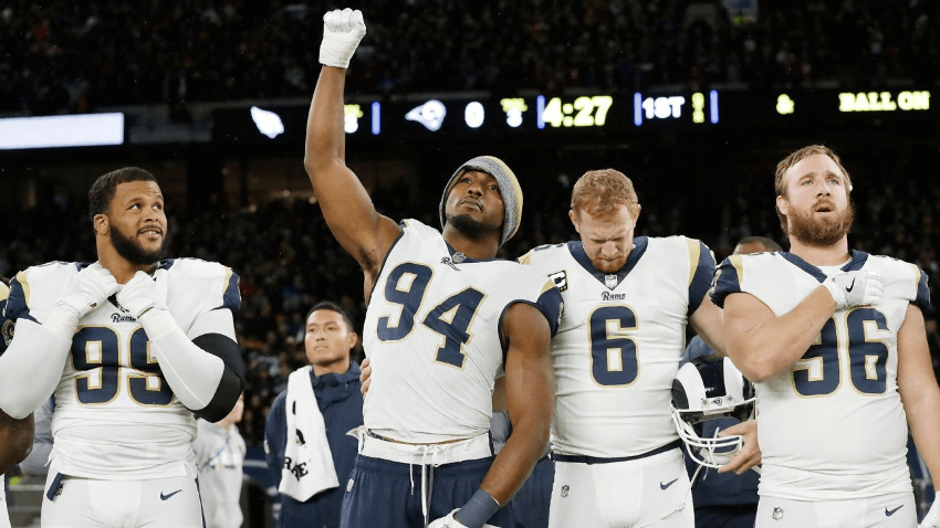 The NFL could ban National Anthem protests if they wanted to