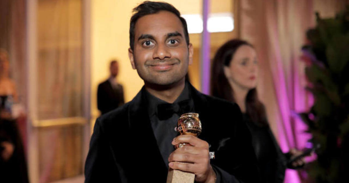 Aziz Ansari needs to keep his creepy fingers to himself