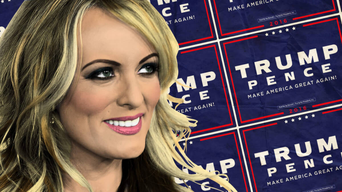 Donald Trump's sexual relationship with a porn actress is not news