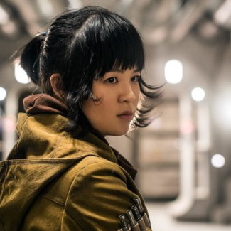I'm not a real 'Star Wars' fan because I like Rose Tico