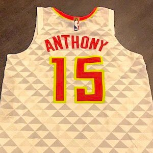 Carmelo Anthony asks for and receives free Atlanta Hawks jersey