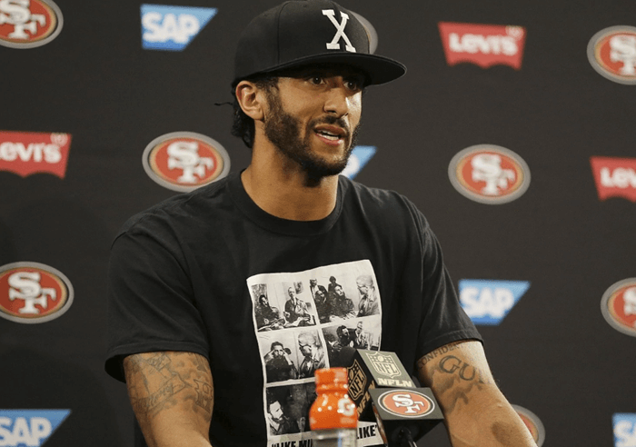 Colin Kaepernick and his ridiculous peaceful protest - Bent Corner