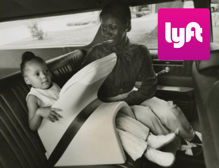 What to do when a Lyft passenger does not have a car seat for their child