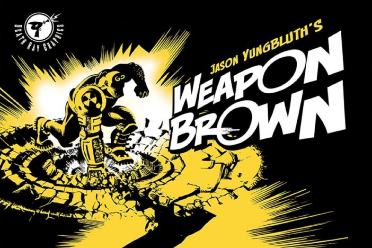 'Weapon Brown' is now on ComiXology - Rick Rottman