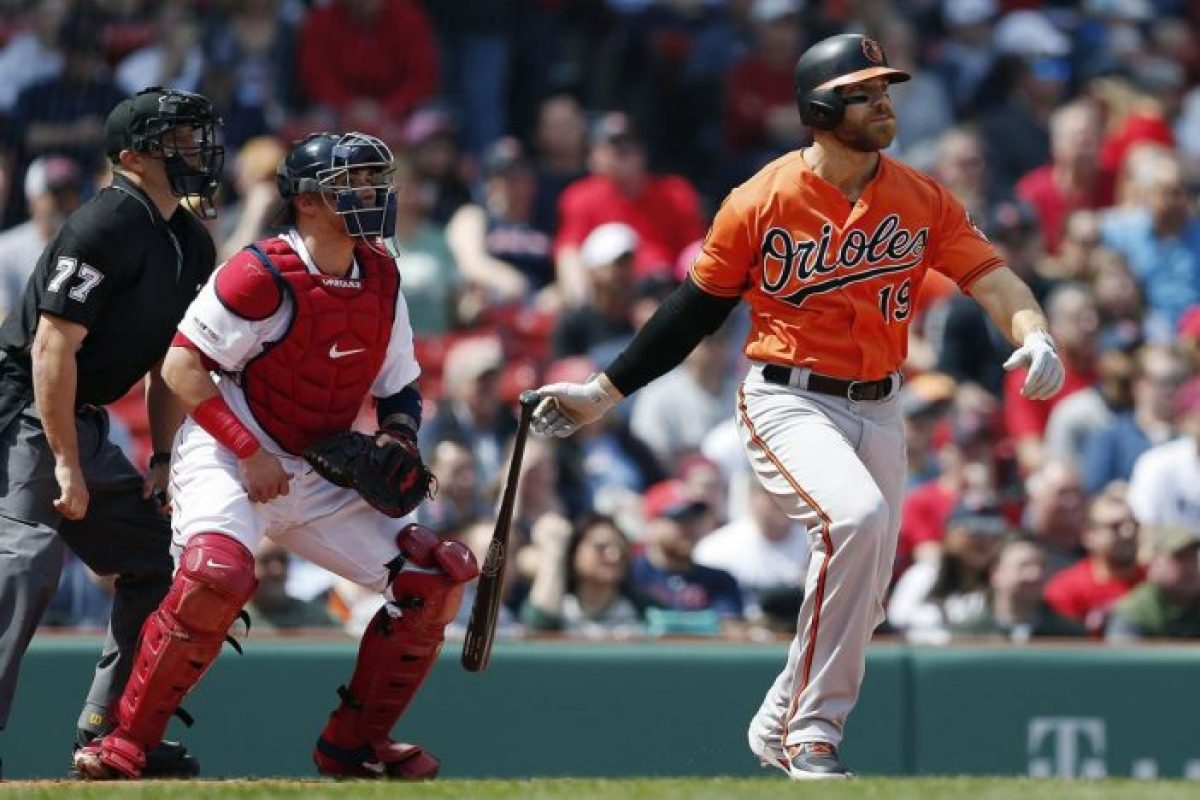 The national nightmare is now over, Chris Davis gets a hit - Bent Corner