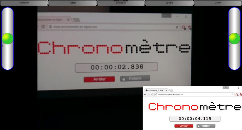 Mesure de la latence avec GStreamer <-> VLC.dotNet : 1277ms de décalage !