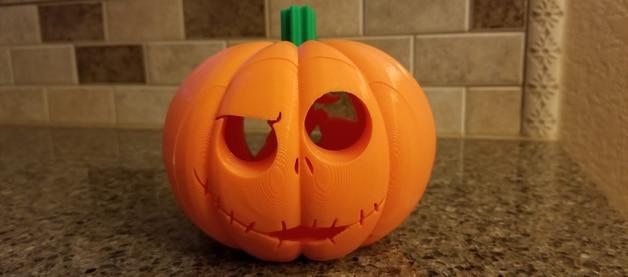 La belle citrouille d'Halloween !