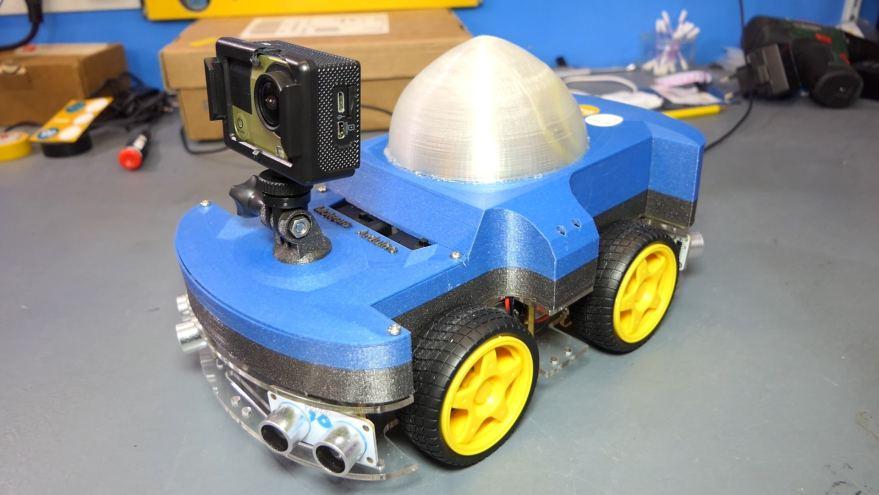 Le Rover Arduino !
