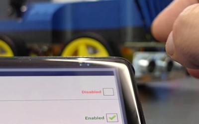 [6/50] Rover Arduino piloté par Bluetooth sur Android avec Virtuino !