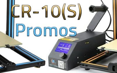 [Bon Plan] Imprimante Creality3D CR10 et CR10S en promo