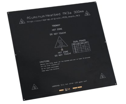 Plateau chauffant MK3 300x300mm