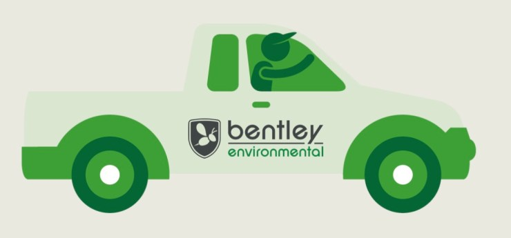 Pest Control Bentley Environmental Truck