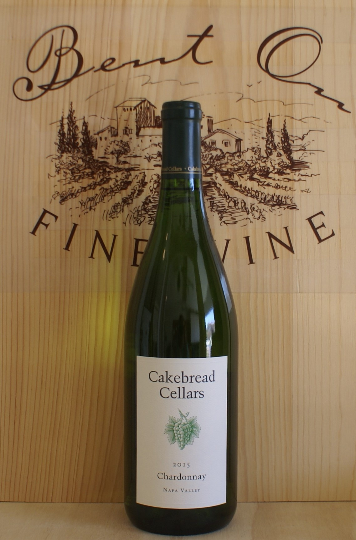 Cakebread Cellars Chardonnay Napa Valley 2015 & Cakebread Cellars Chardonnay Napa Valley 2015 - Bent on Fine Wine