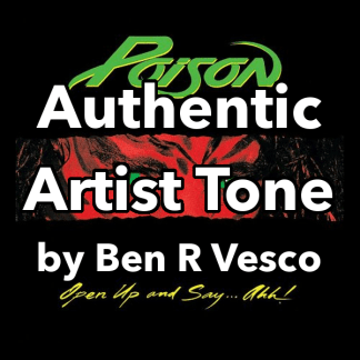 poison authentic artist guitar tone