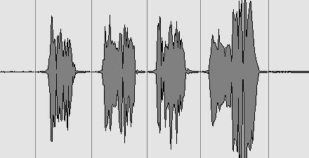vocals, first cut