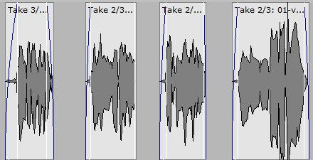 trimmed vocal track